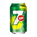[A132.33SU24] SEVEN UP CITRON VERT CANETTE 33Cl Pack de 24