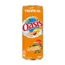 [A132.33OT24] OASIS TROPICAL CANETTE SLIM 33Cl Pack de 24