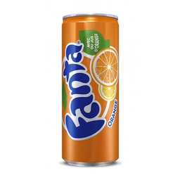 [A132.33FO24] FANTA ORANGE CANETTE SLIM 33Cl Pack de 24
