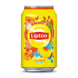 [A132.33LP24] LIPTON ICE-TEA PECHE CANETTE 33Cl Pack de 24