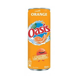 [A132.33OO24] OASIS ORANGE CANETTE SLIM 33Cl Pack de 24